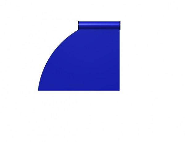 BAC Radienzuschnitt ab 15 cm