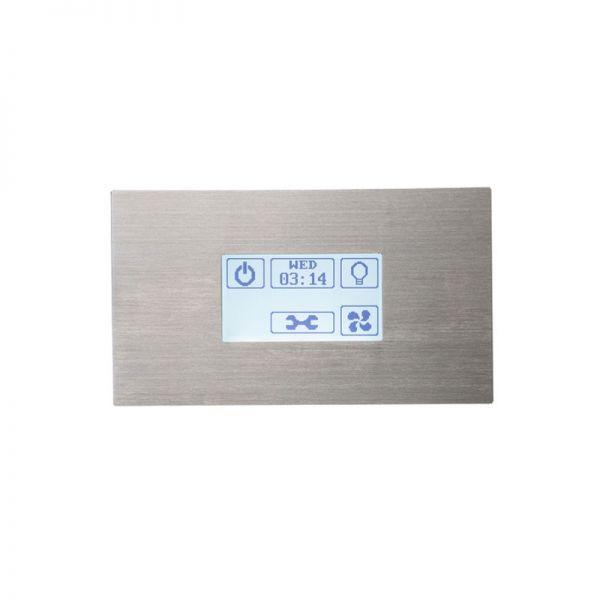 Sentiotec Dampfbadsteuerung Touchbedienteil STP STN