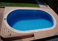 Ovalpool 6,23 x 3,60 x 1,50 m Innenhülle 0,60 mm blau