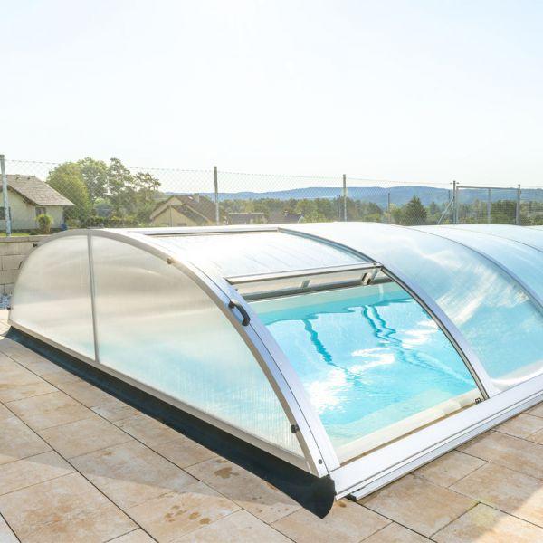 Mountfield Poolüberdachung Compact K4 8,54 x 4,30 x 0,84 m