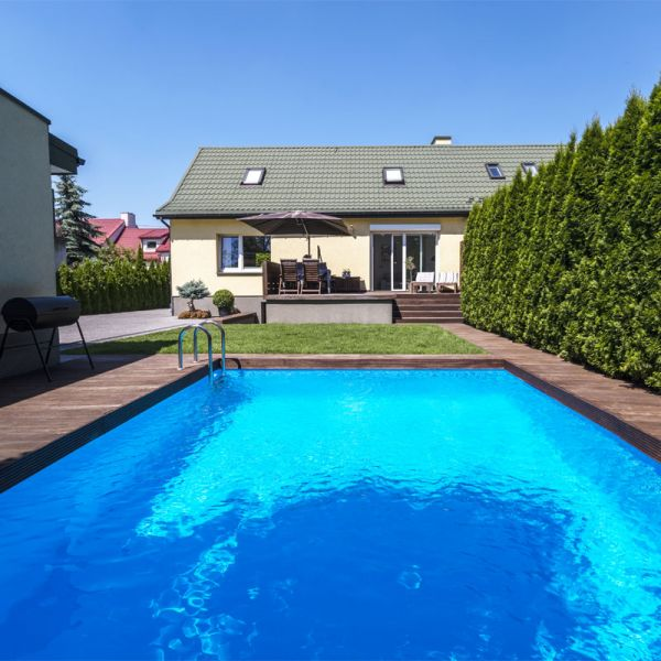 Sunstar Rechteck Pool Set 7,00 x 4,00 x 1,50 m