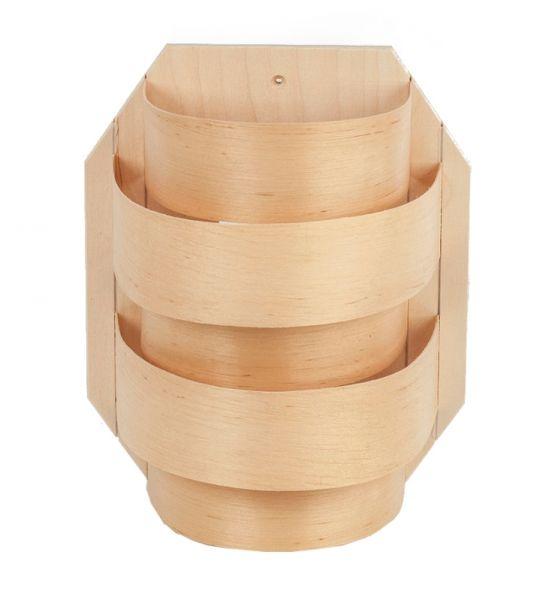 Sauna Lampenschirm halbrund Set inkl. Leuchtenfassung