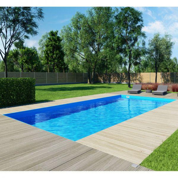 Albixon QBIG Benefit TOP Skimmer Pool 3,00 x 6,00 m