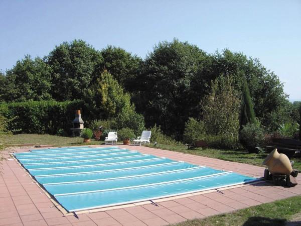 Sicherheitsabdeckung Walu Pool Evolution Azurblau