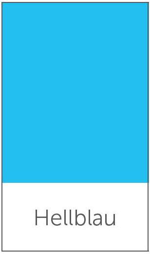 Farbe-hellblau