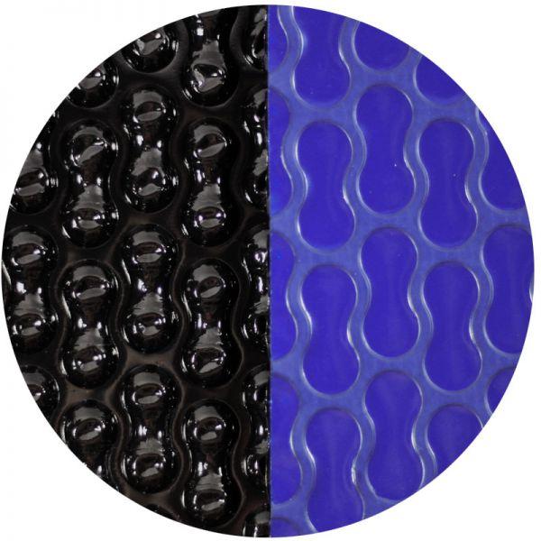Solarfolie blau/schwarz GeoBubble 400 mµ Rund