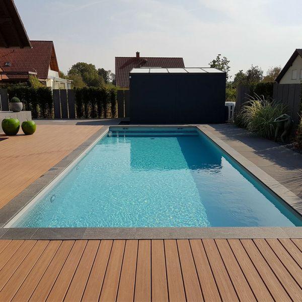 Styropor Pool Set 8,00 x 4,00 x 1,50 m weiß