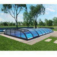 Albixon Poolüberdachung Dallas B 462 x 850 cm