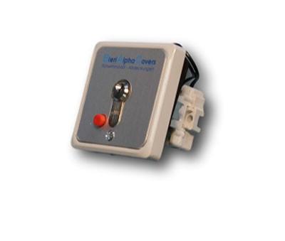BAC Schlüsselschalter mit Stopptaste Unterputz