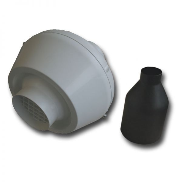 EOS Ventilator DN 100 inkl. Rückschlagklappe