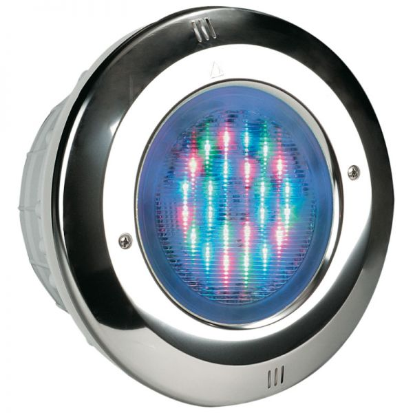 Astral LumiPlus V2 Poolbeleuchtung Edelstahlblende LED weiß
