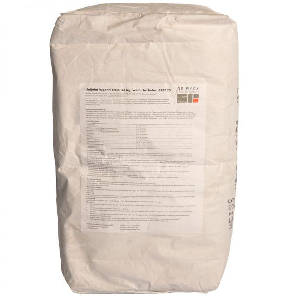 Spezial Fugenmörtel elegant 25 kg Betonweiß