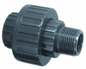 """PVC Verschraubung d 20 mm x 1/2"""" AG"""