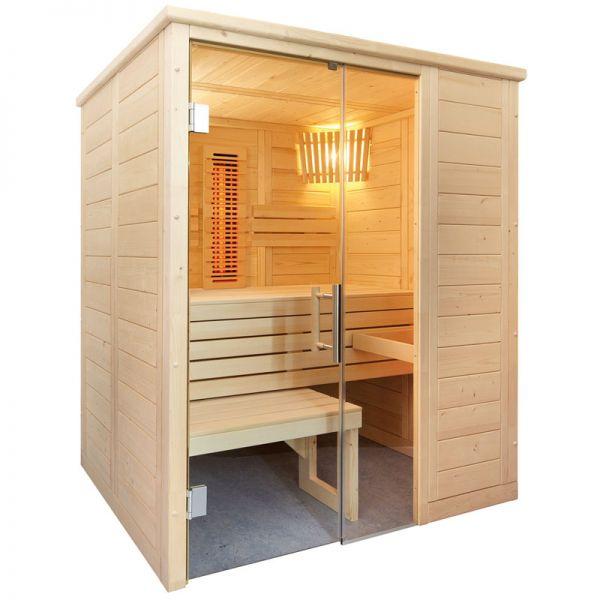 Sauna Infrarotsauna Alaska mini Infra+ 1,60 x 1,10 m
