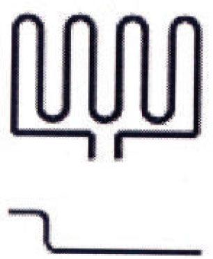 Verdampfer Heizstab EOS Saunaofen Cubo 3000 W 2001.5395