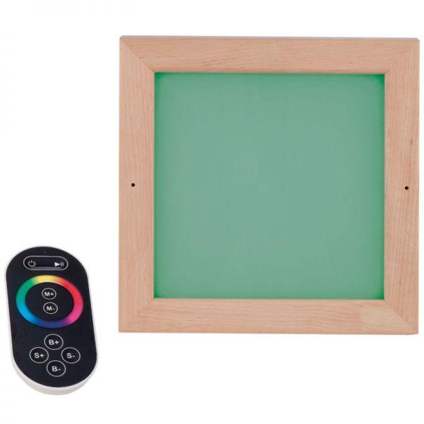 Sauna LED Farblicht inkl. Fernbedienung
