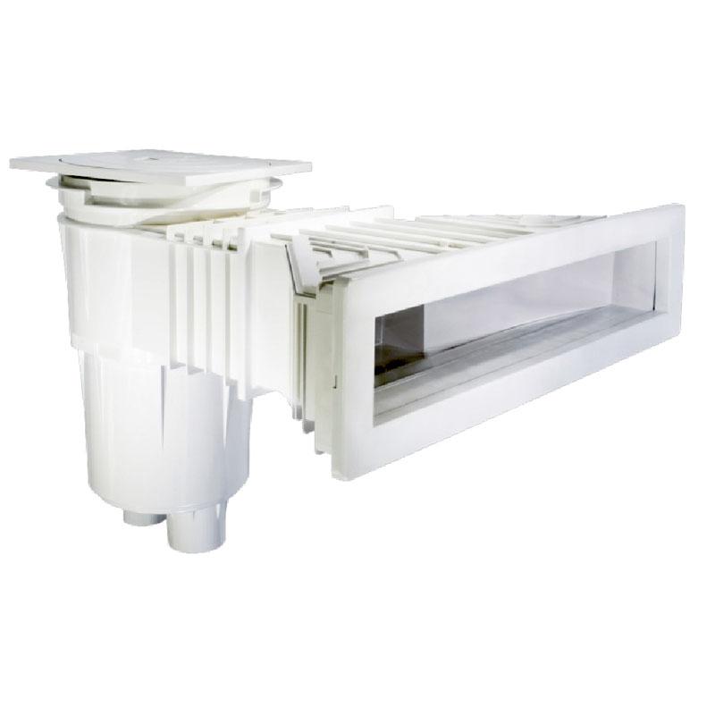 astral pool slim einbau skimmer 17 5 f r hohen wasserstand reduziert. Black Bedroom Furniture Sets. Home Design Ideas