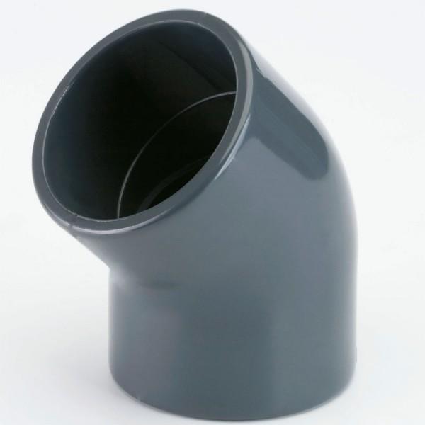 PVC Winkel 45° d 20 mm