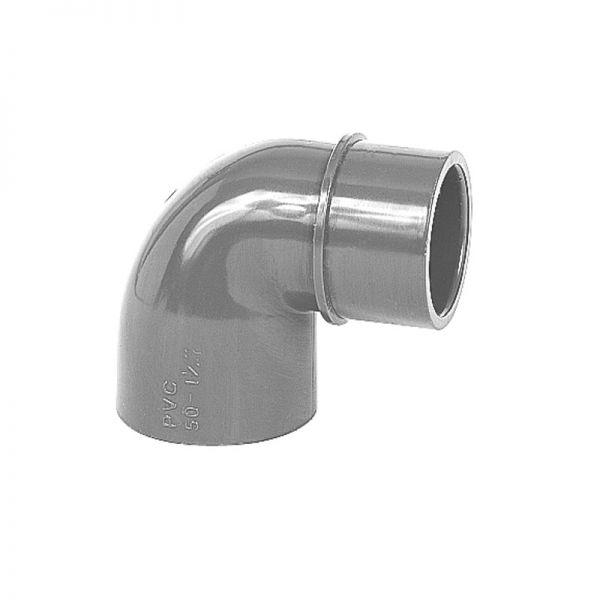 PVC Reduzierwinkel 90° d 50 mm