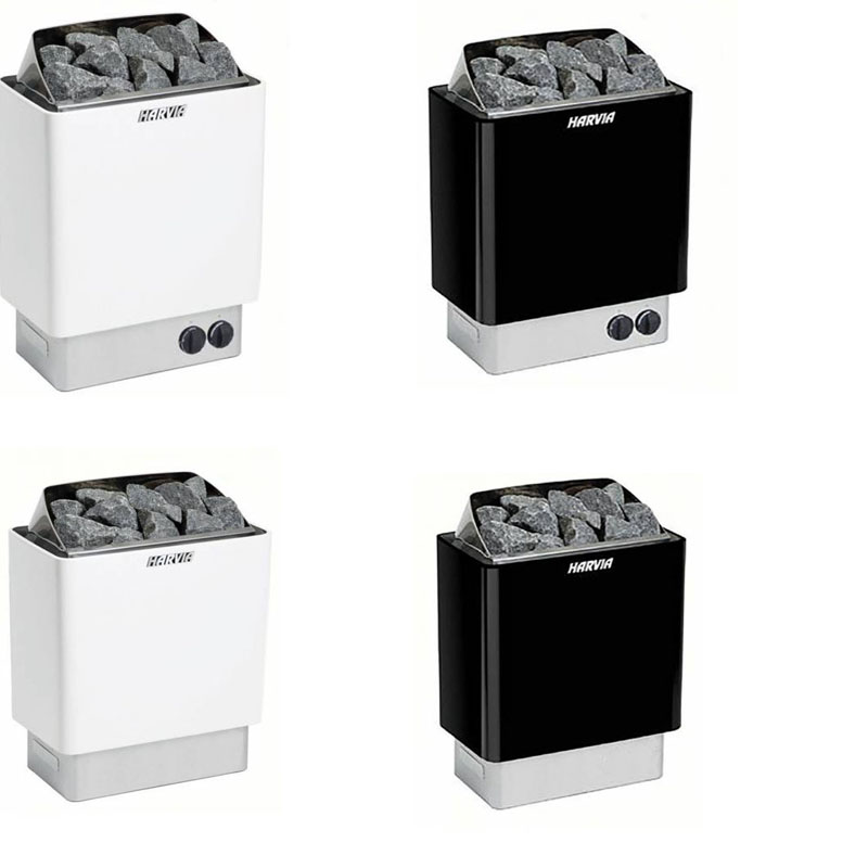 Ben/ötigt seperaten Steuerger/ät Steuereinheit 4.5 kW Harvia Sauna/öfen Kip Schwarz