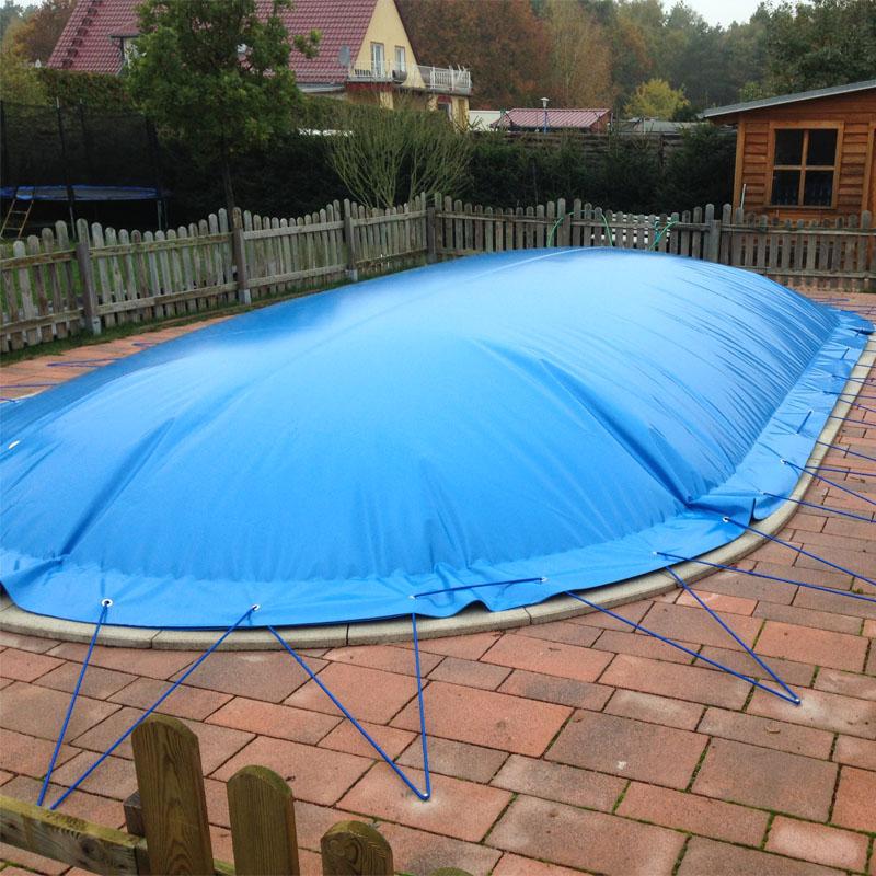 Aufblasbare Poolabdeckung Schwimmbadabdeckung für