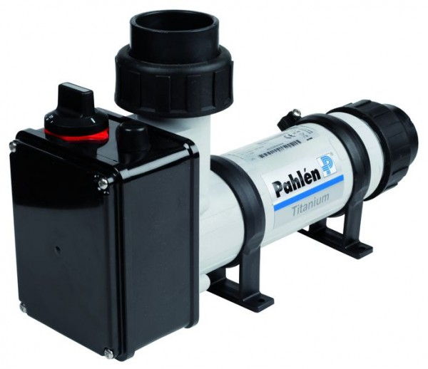 Pahlen Elektroheizer 9 kW aus Kunststoff mit Titanheizstab 400 V