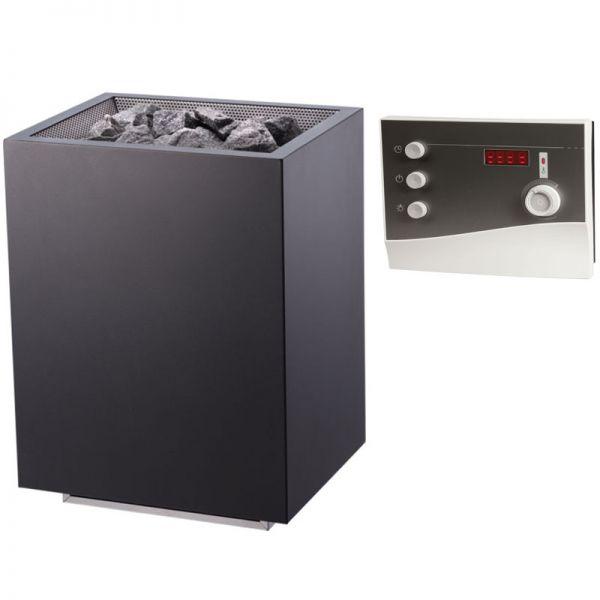 Saunaofen Set Home FIN bis 9 kW inkl. K2 Saunasteuerung