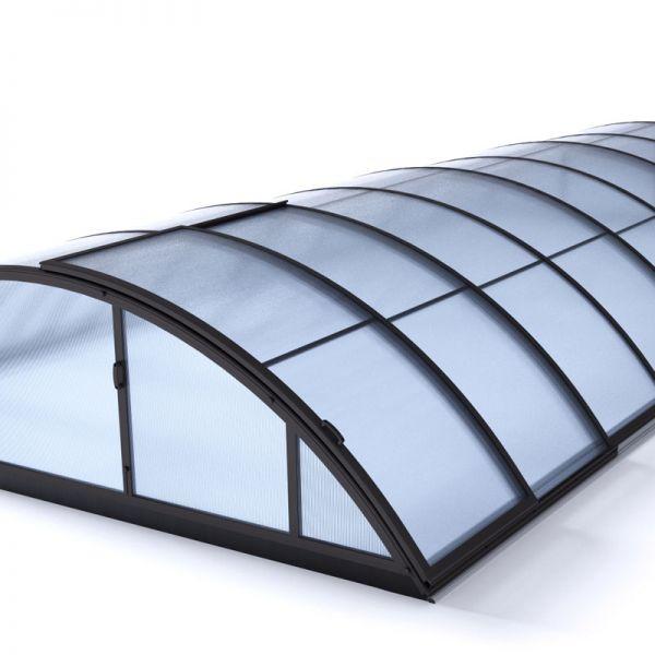 Albixon Poolüberdachung Klasik B 415 x 850 cm