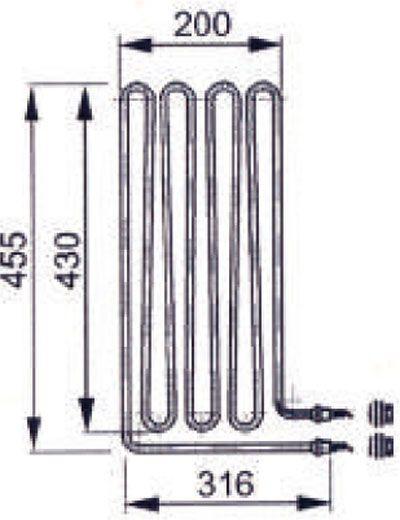 Heizstab EOS Saunaofen 3000 W 2001.2967