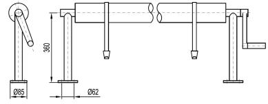 Skizze-Fixmontage