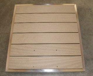 WPC Bodenplatte 840 x 750 mm