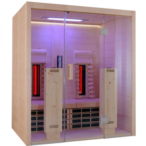 Infrarotkabine VitaMy 164 S&L 1,64 x 1,20 m