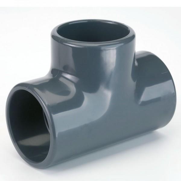 PVC T-Stück 90° d 63 mm