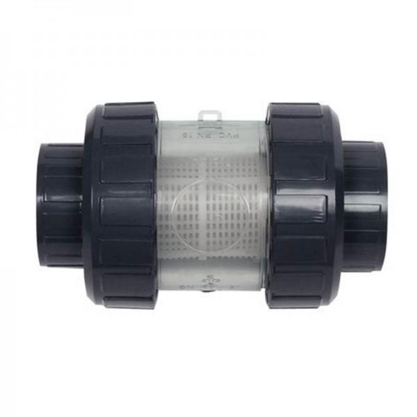 PVC Schmutzfilter mit Kunststoffsiebrohr d 50 mm