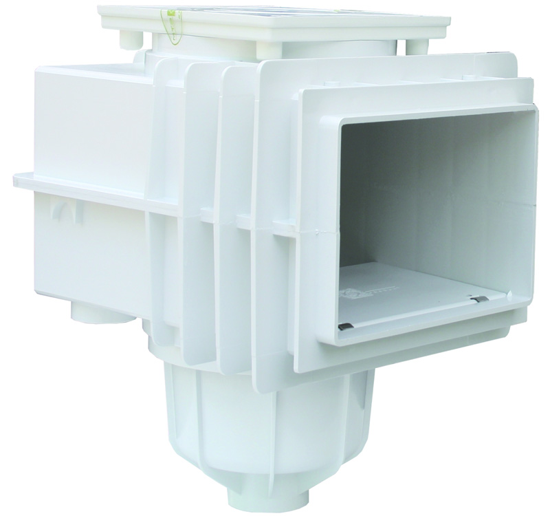 mts v20 einbau skimmer betonbecken abs wei stark reduziert. Black Bedroom Furniture Sets. Home Design Ideas