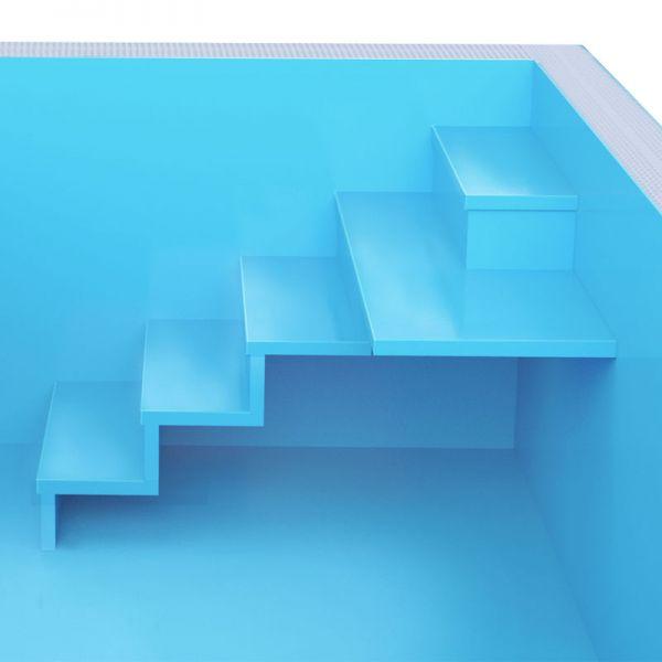 Aufpreis Albixon Treppe X AIR+ blau oder weiß