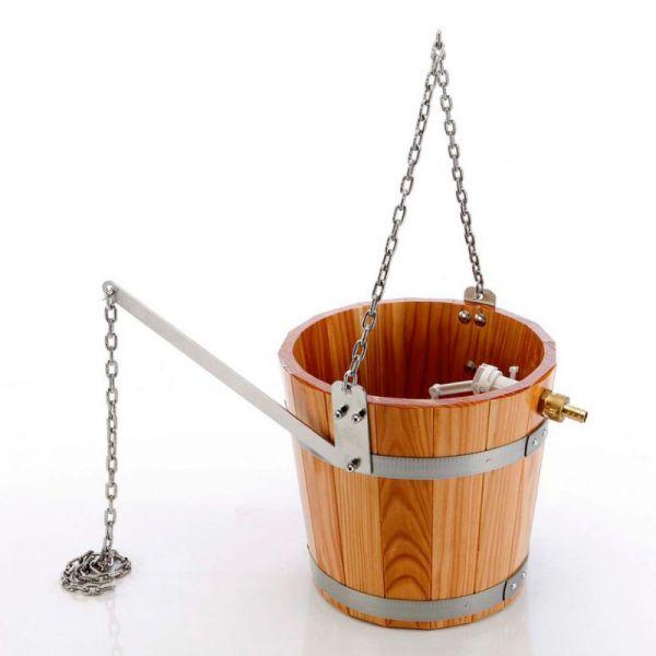 Schwalldusche Schwalleimer mit Aufhängekette