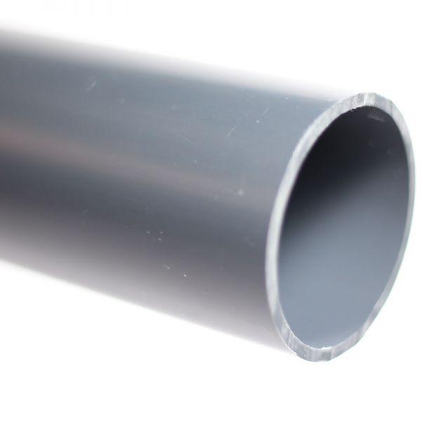 PVC Hart Rohr d 40 mm 2 Meter