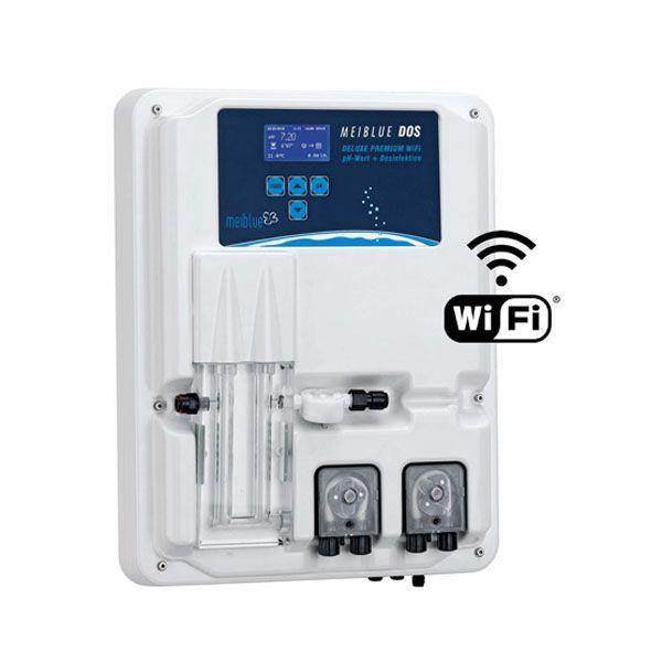 Swim tec Dosieranlage Dos SL 3 Deluxe pH und Aktivsauerstoff WiFi