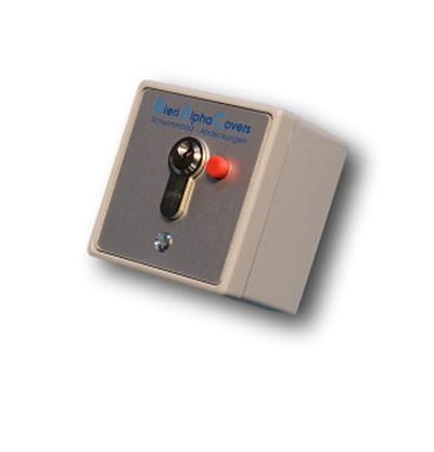 BAC Schlüsselschalter mit Stopptaste Aufputz
