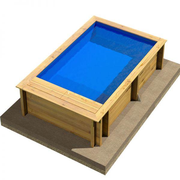 Procopi Kinderholzpool POOL´N BOX 3,70 x 2,40 x 0,76 m
