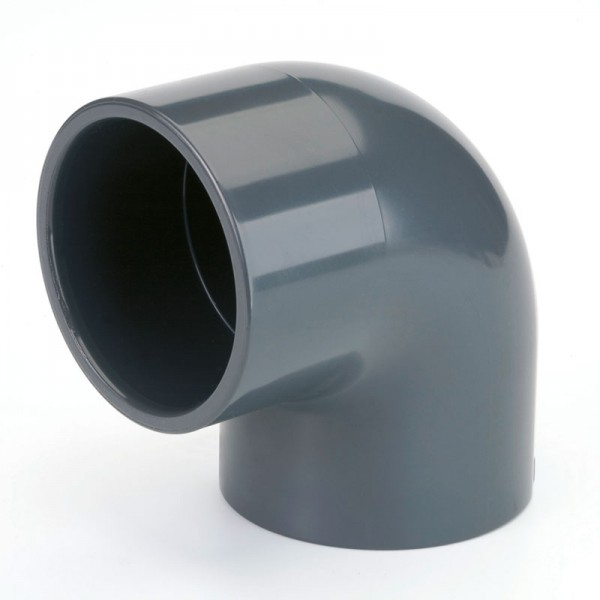 PVC Winkel 90° d 63 mm