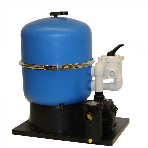 Sandfilteranlage Premium d 500 mm mit AquaPlus 11 Pumpe bis 45 m³