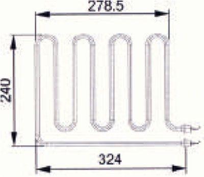 Heizstab EOS Saunaofen 3000 W 2001.5944