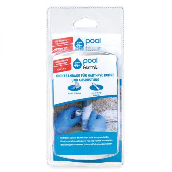Pool Fermit Dichtbandage für Hart-PVC-Rohre und Ausrüstung