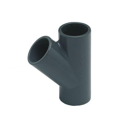 PVC T-Stück 45° d 40 mm