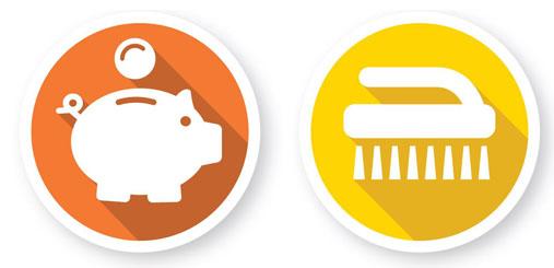 Albixon-Piktogramm-Geld-sparen-und-sauberkeit-shop
