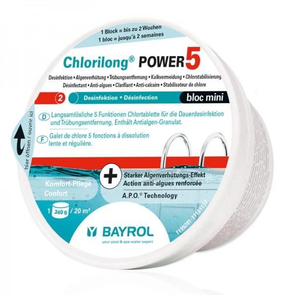 Bayrol Chlorilong Power 5 Bloc mini 0,34 kg
