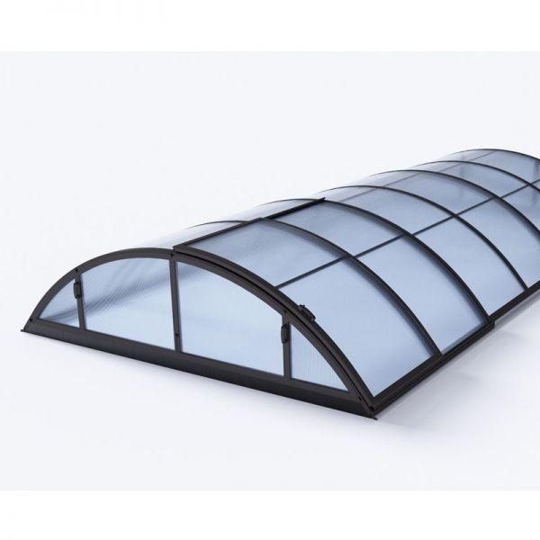 Albixon Poolüberdachung Klasik S 333x421 cm