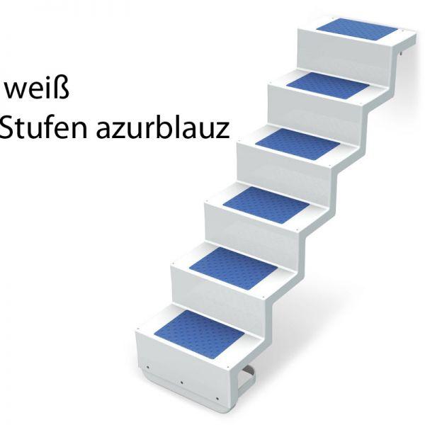 Aufpreis farbig abgesetzte Stufe für Treppe Eleganz